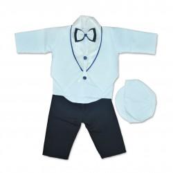 Costum cu frac bebe 5 piese B33