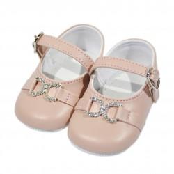 Pantofi de fete botez F03