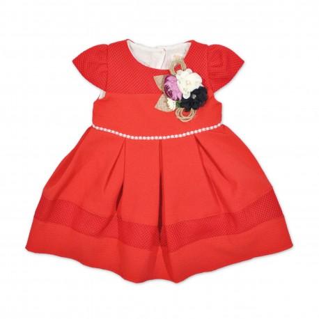 Rochita rosie eleganta copii F41