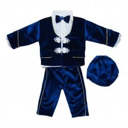 Costum bebe (Micul print) 5 piese B47