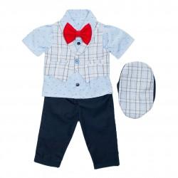 Costum bebe (baieti) 5 piese B49