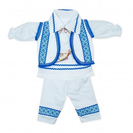 Costum popular baieti botez B51