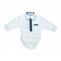 Body bebe (baieti) tip camasa B12