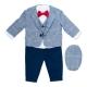 Costum elegant bebe 4 piese B52