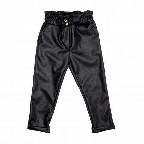 Pantaloni piele ecologica fete F07