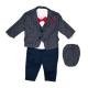 Costum elegant bebe 5 piese B62