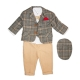 Costum elegant bebe 5 piese B63