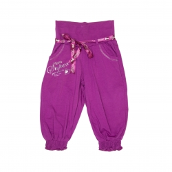 Pantaloni trei sfert fete F20