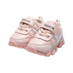 Adidasi casual negrii pentru fete - F13
