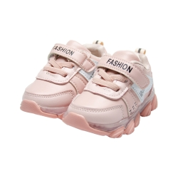 Adidasi casual roz pentru fete - F13