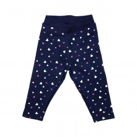 Pantaloni imblaniti de trening fete - F29