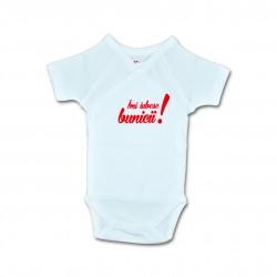 Body bebe unisex cu mesaj U16