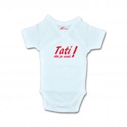 Body bebe unisex cu mesaj U18