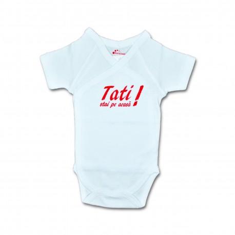Body bebe unisex cu mesaj U17