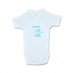 Body bebe unisex cu mesaj U20