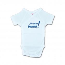 Body bebe unisex cu mesaj U21