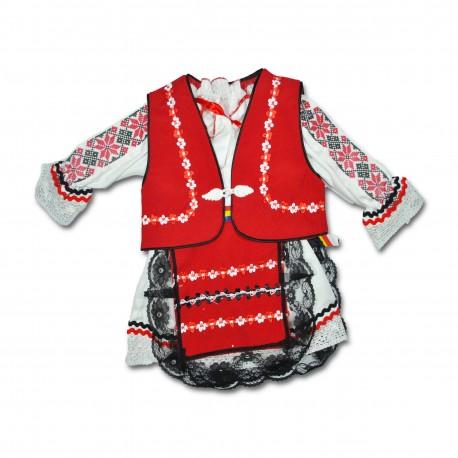 Costum traditional botez F07