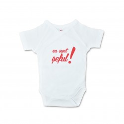 Body bebe unisex cu mesaj U23