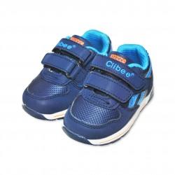 Adidasi albastri baieti Clibee - B08